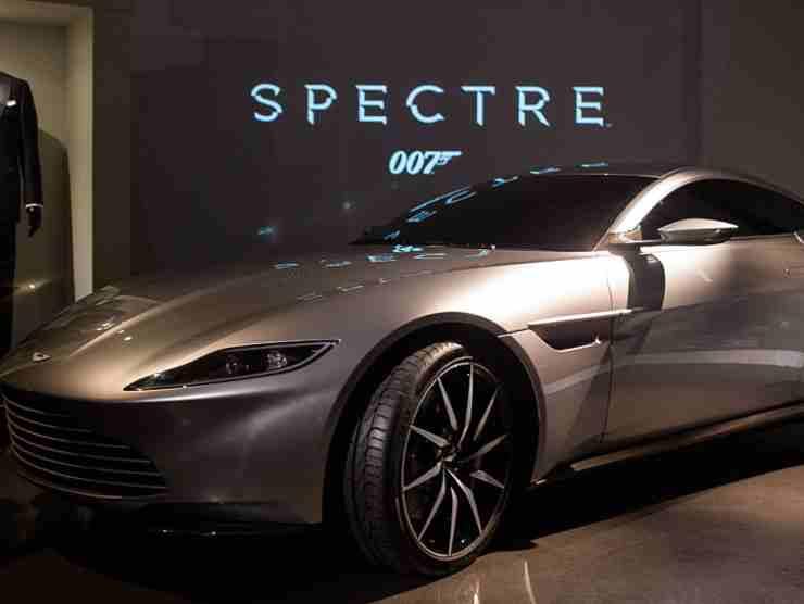 L'Aston Marti di Spectre