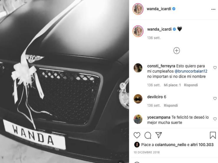 Bentley Wanda Nara