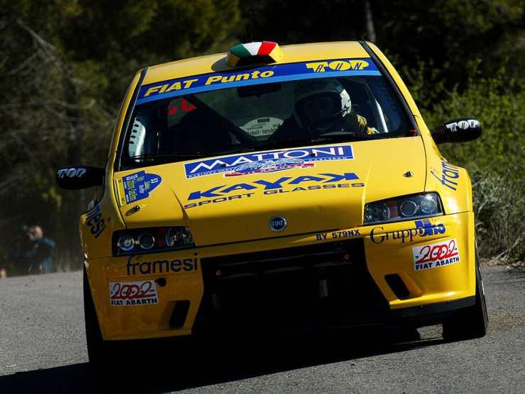 fiat punto s1600 rally