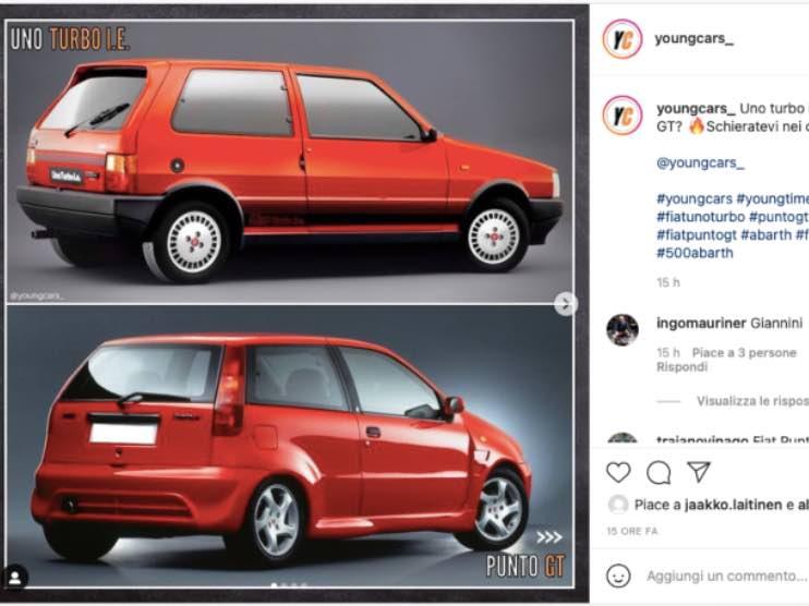 Fiat Uno Punto 20 luglio 2021