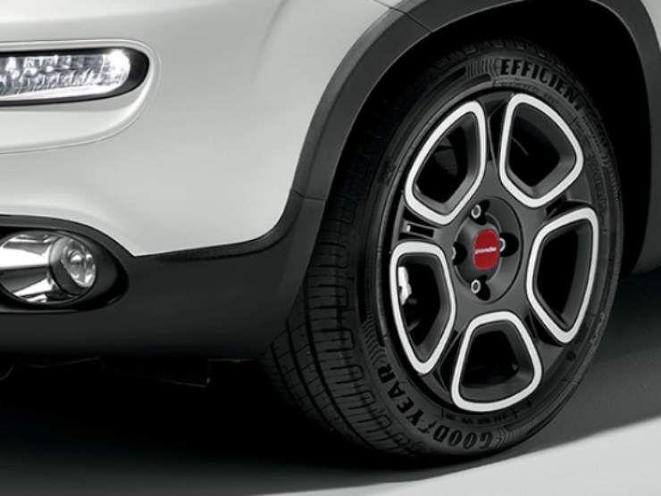 Fiat panda ruote
