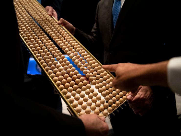 Estrazioni del Lotto (Getty Images)