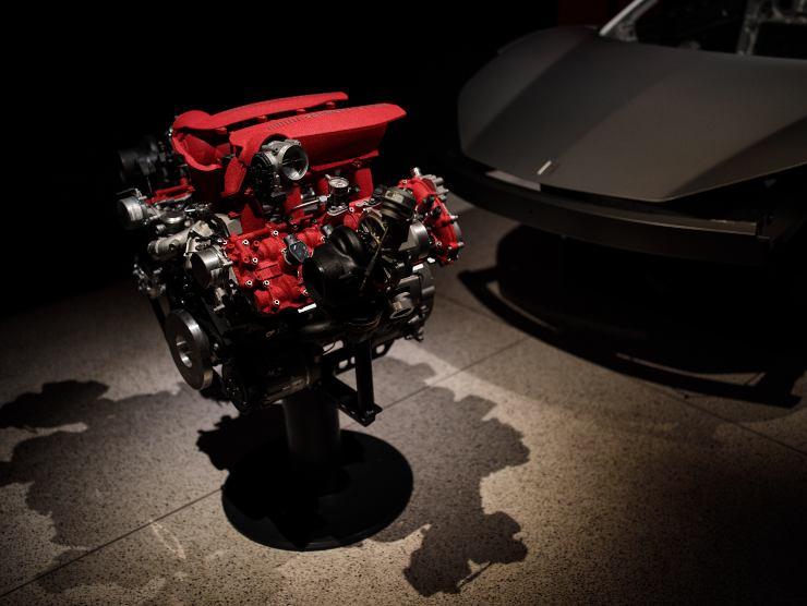 Motore Ferrari 458 Italia (Getty Images)