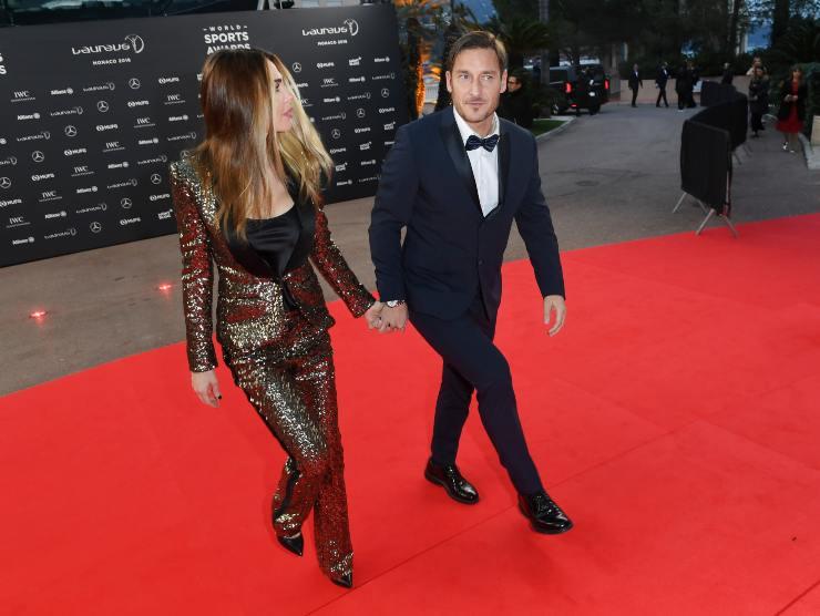 Ilary Blasi e Francesco Totti (Getty Images)