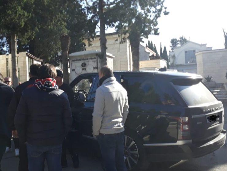 Gigi D'Alessio Range Rover Evoque