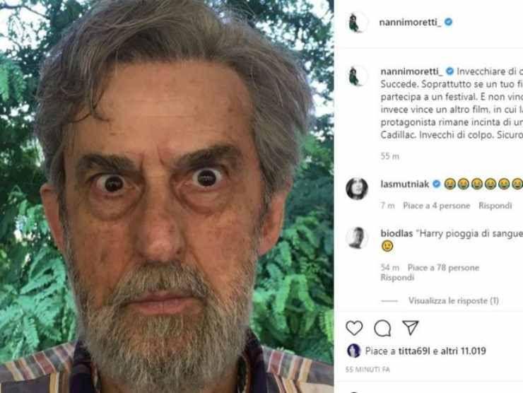 Instagram Nanni Moretti