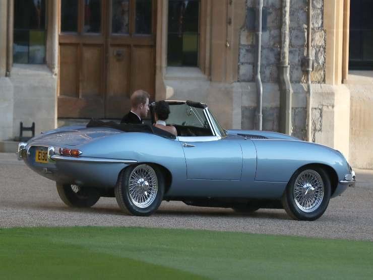 Jaguar Harry e Meghan