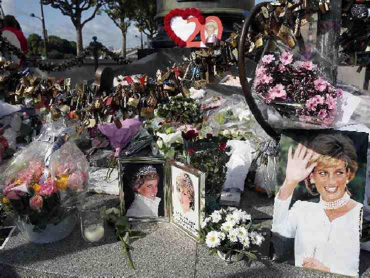 Il tributo a Lady Diana
