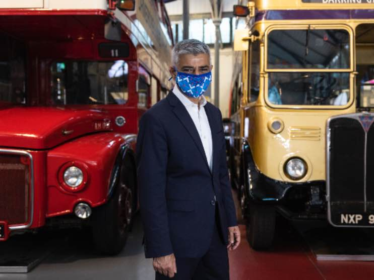 London bus 19 luglio 2021