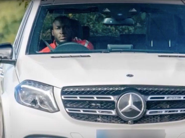 Lukaku Benz AMG