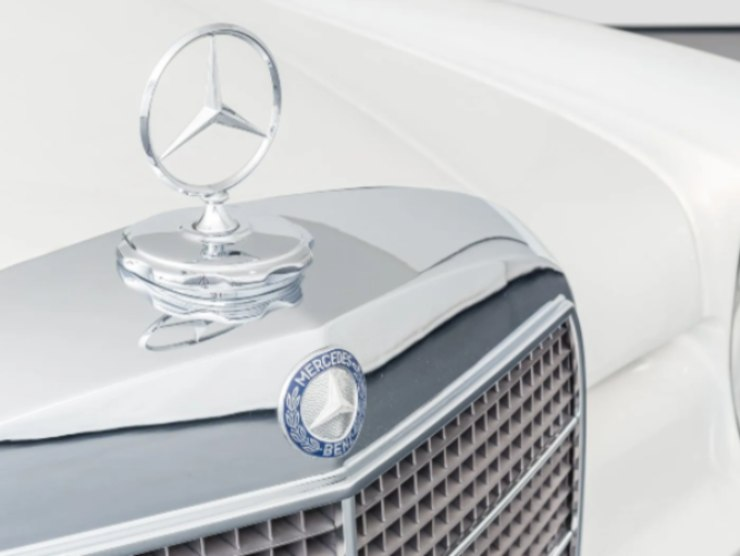 Mercedes Benz 600 dettaglio