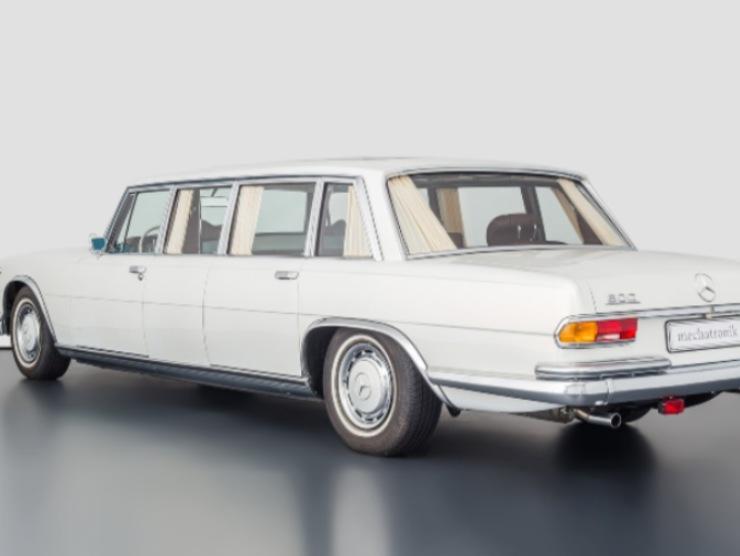 Mercedes Benz 600 retro