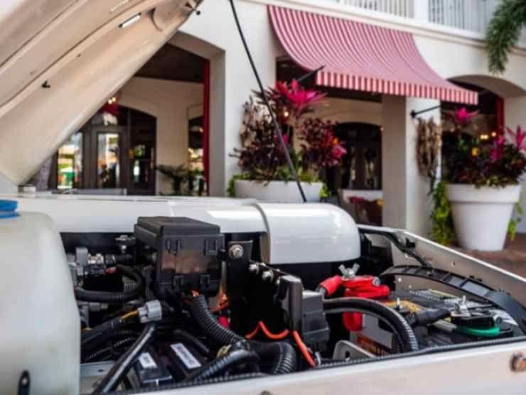 Il motore del Land Rover