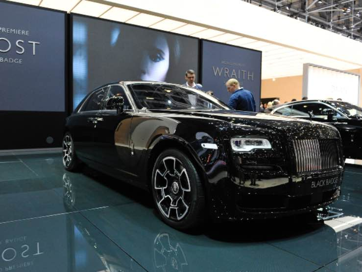 Rolls Royce Ghost (Getty Images)