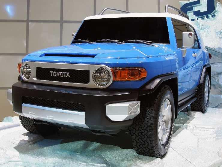 Toyota FJ 14 luglio 2021