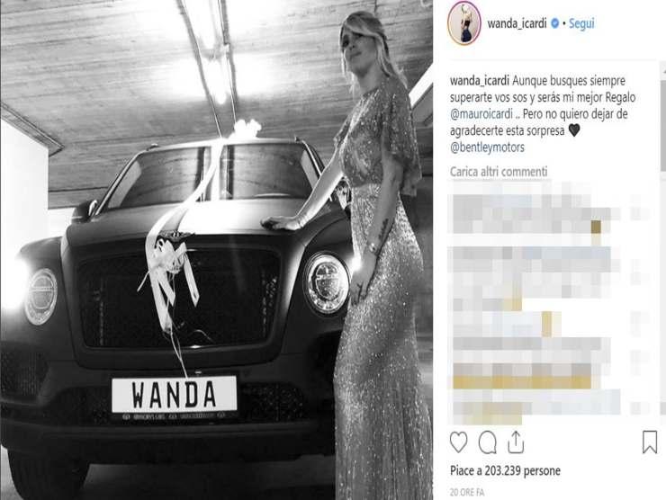 Wanda Nara Bentley