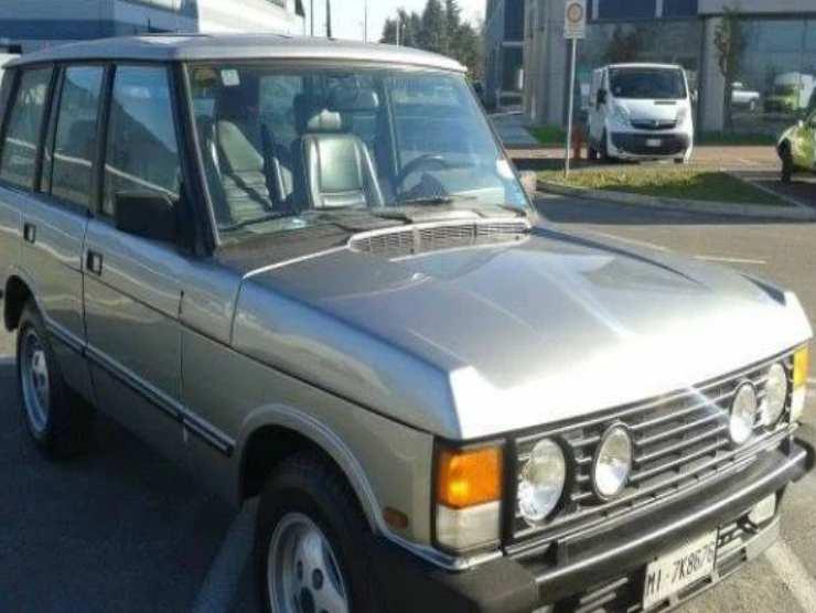La Range Rover di Silvio Berlusconi