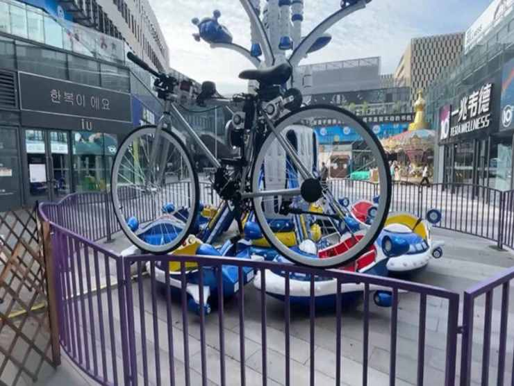 Bici a guida autonoma Huawei