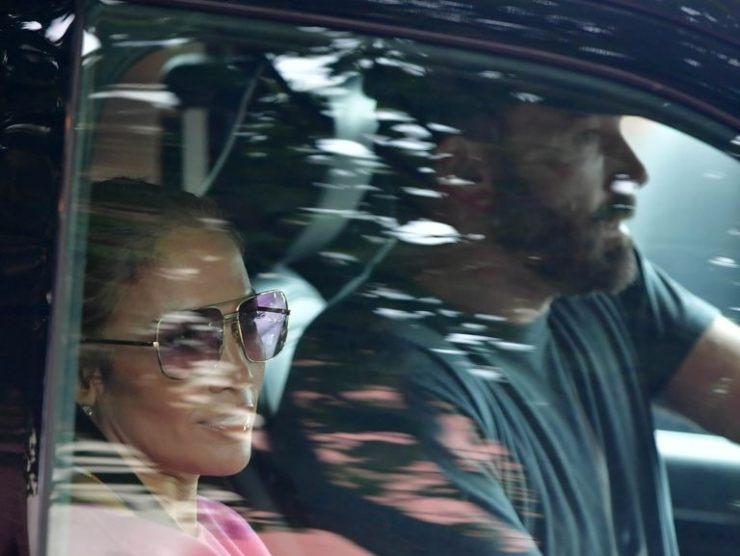 Jennifer Lopez Ben Affleck Mercedes Classe S 63