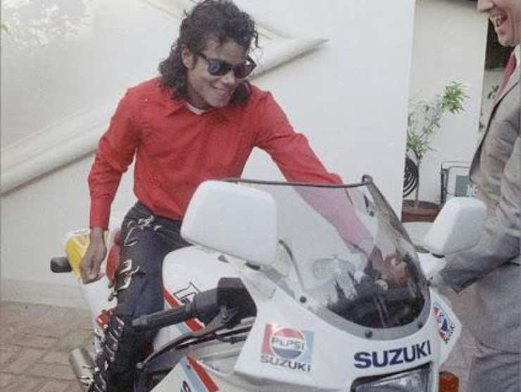 Michael Jackson Suzuki