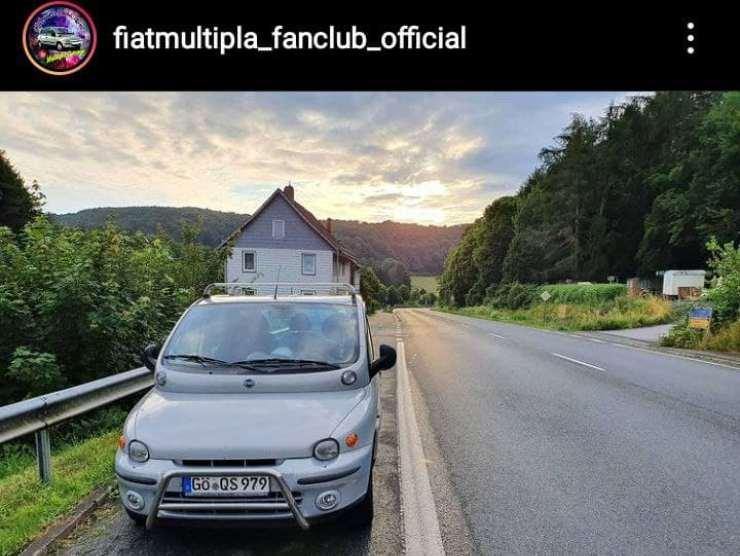 Fiat Multipla ritorno elettrico Stellantis
