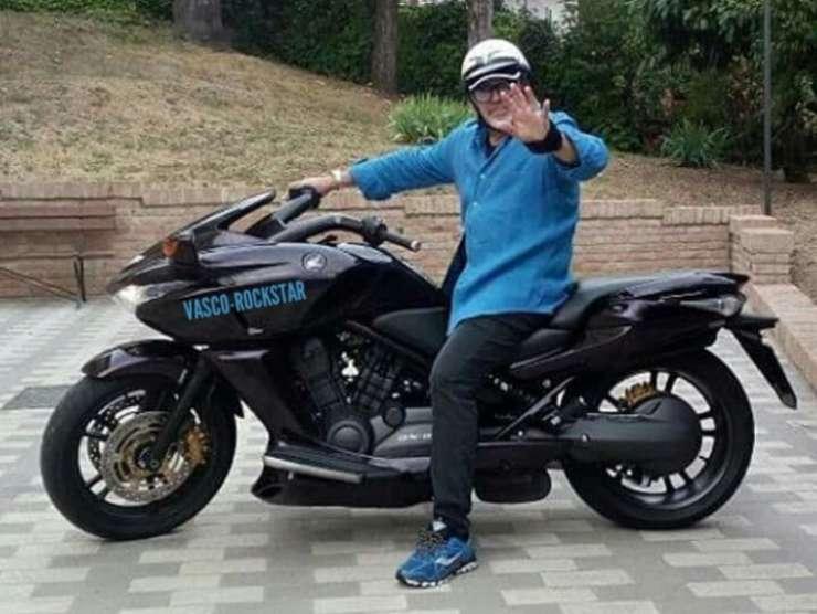 Vasco Rossi moto