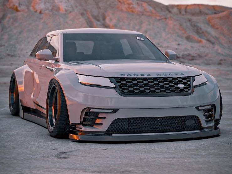 Range Rover Velar BardBuilds