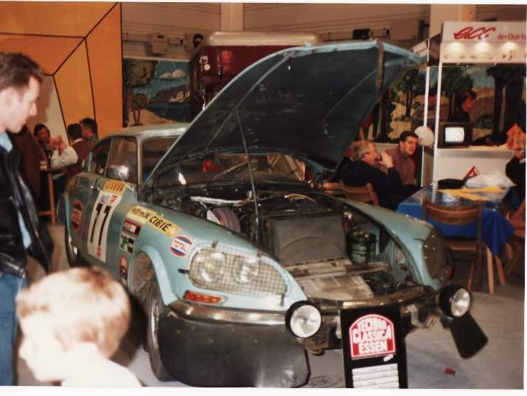 Citroen DS Rally