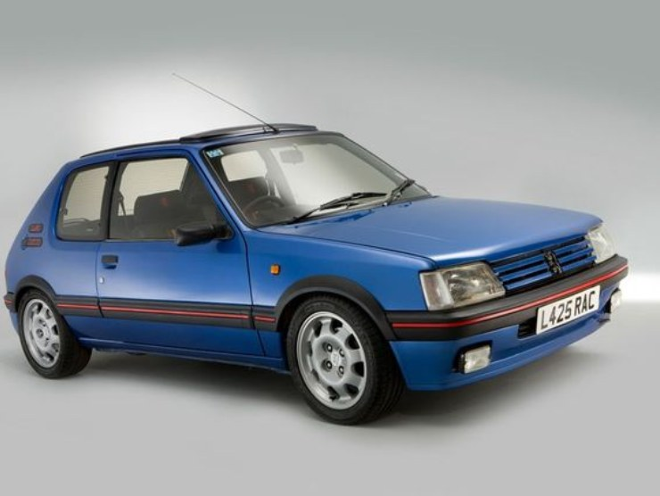 Peugeot 205 GTI (Getty Images)