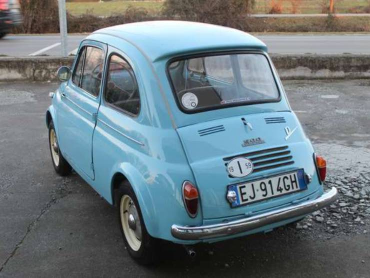 Fiat 500 in vendita su eBay