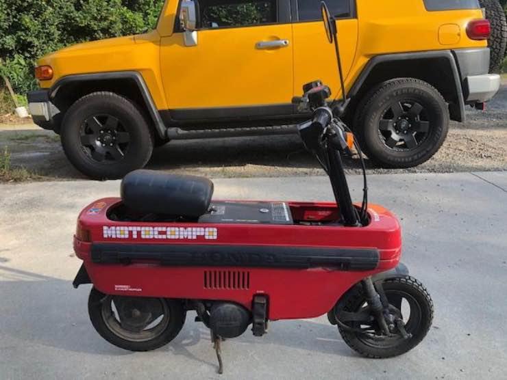 L'Honda Motocompo in vendita (Katawiki)