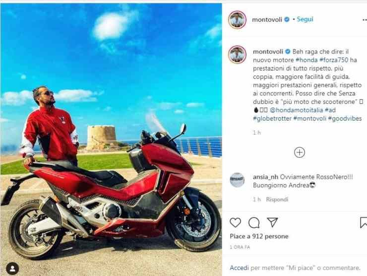 Andrea Montovoli Instagram