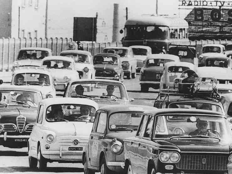 Traffico anni 60