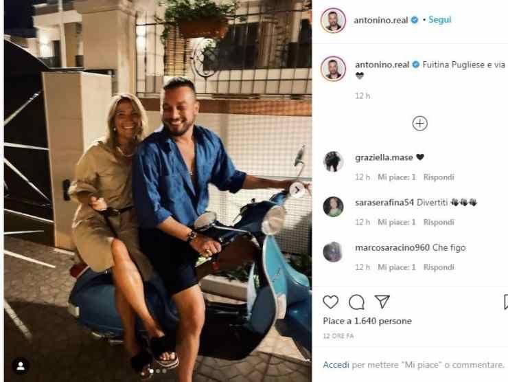 Antonino Spadaccino Post Instagram