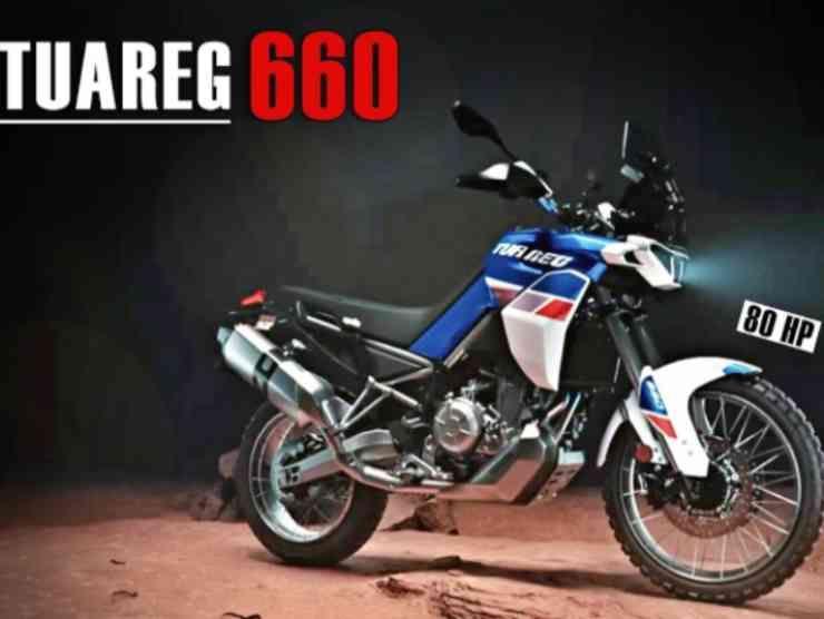 Aprilia Tuareg 660 bis (YouTube)