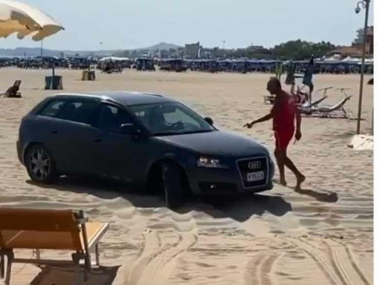 Audi A3 Sportback Riccione 2 (Instagram)