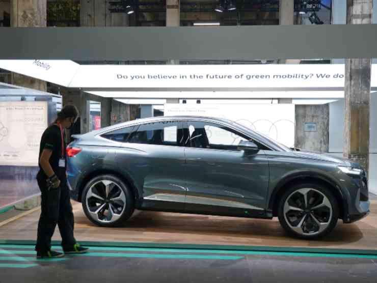 Audi Q4 E Tron (Getty Images)