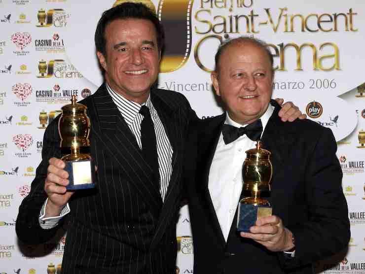 Christian De Sica e Massimo Boldi (Getty Images)