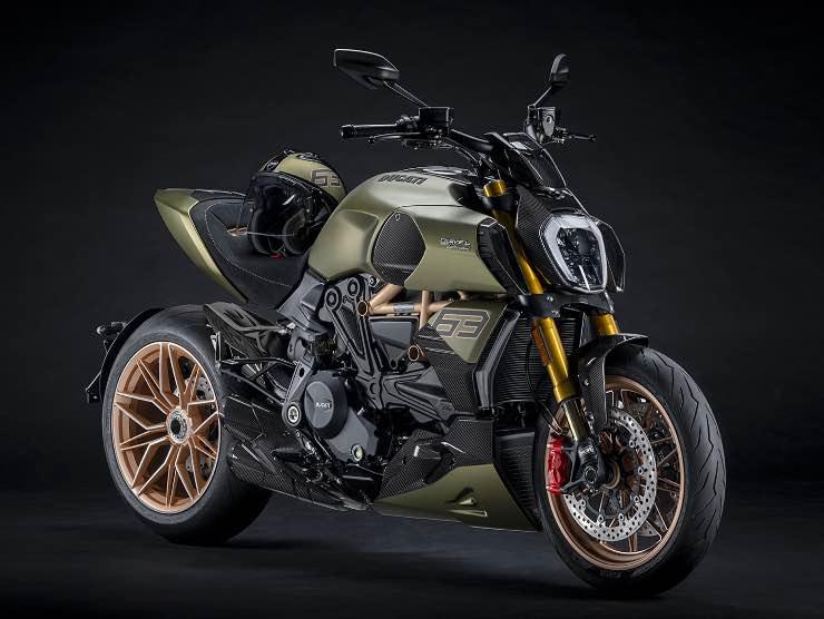 Ducati Diavel Lamborghini