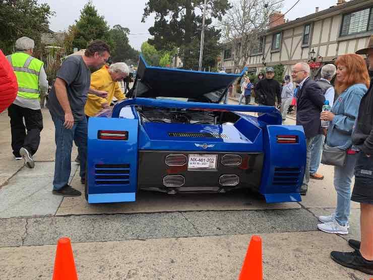 Corvette bi-motore