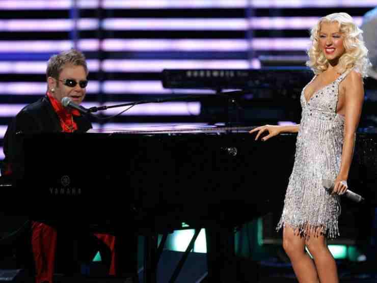 Elton John in un duetto