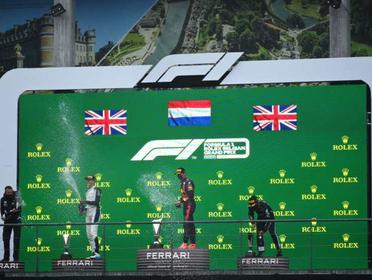f1 podio spa