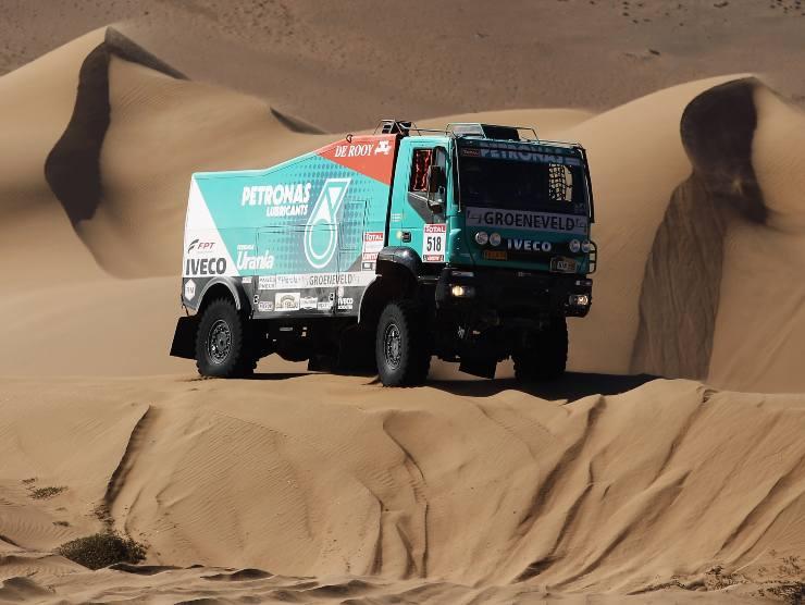 Iveco durante la Parigi-Dakar (Getty Images)