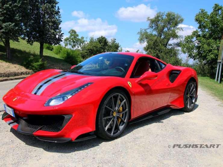 Ferrari 458 a noleggio
