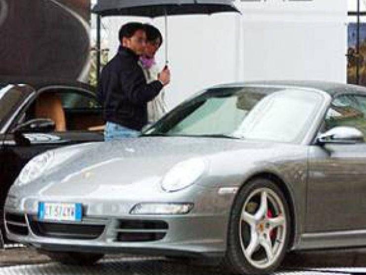 Pier Silvio Berlusconi Silvia Toffanin Porsche 911