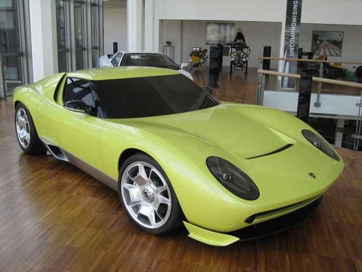 Lamborghini Miura Concept (Wikipedia)