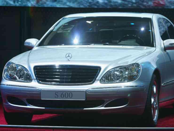 la Mercedes di Celentano