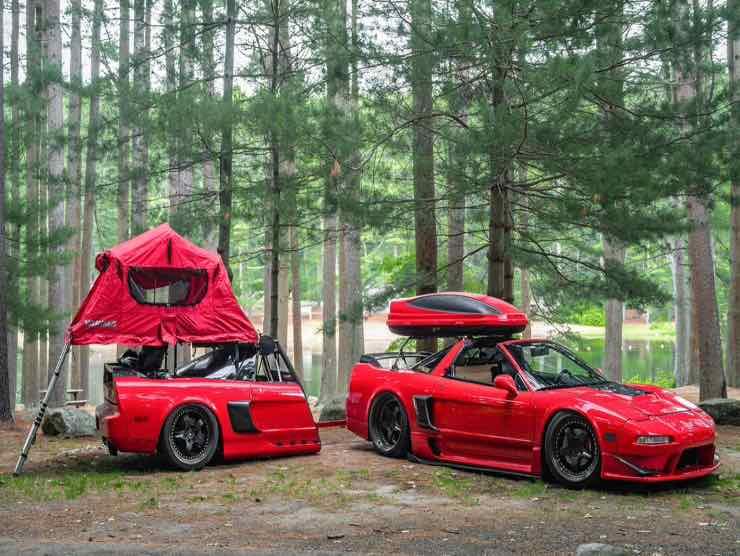 Honda NSX Camper