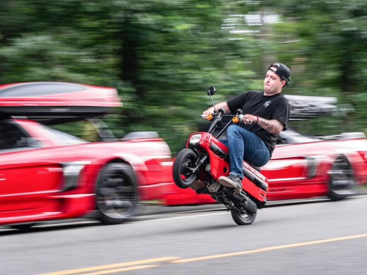 Honda NSX Camper e MotoCompo