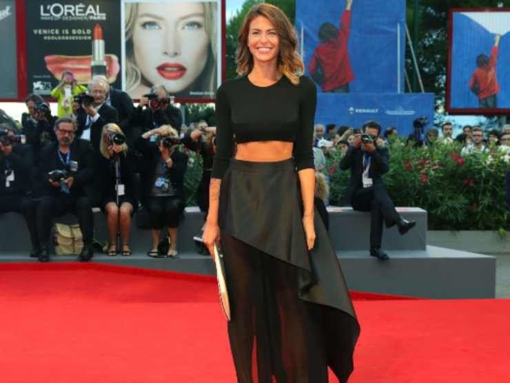 Pamela Camassa al Festival di Venezia (Getty Images)